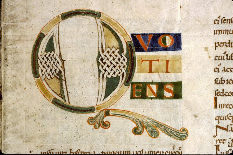 Angers, Bibl. mun., ms. 0186, f. 002 - vue 3