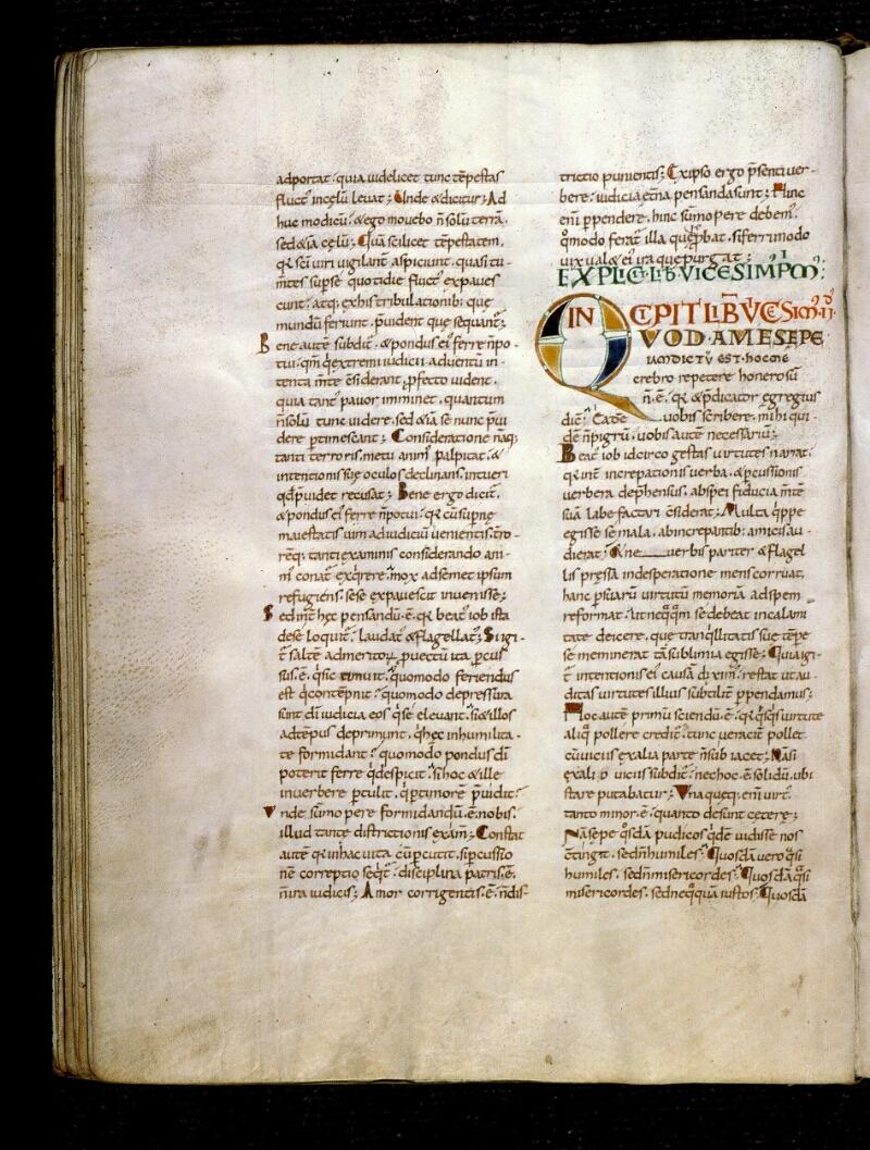 Angers, Bibl. mun., ms. 0186, f. 071v - vue 1