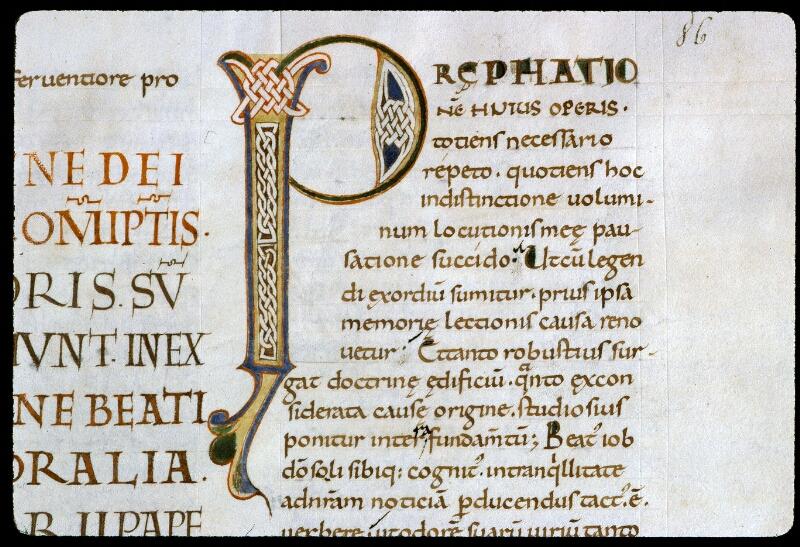 Angers, Bibl. mun., ms. 0186, f. 086 - vue 2