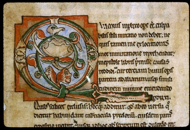 Angers, Bibl. mun., ms. 0188, f. 001 - vue 3