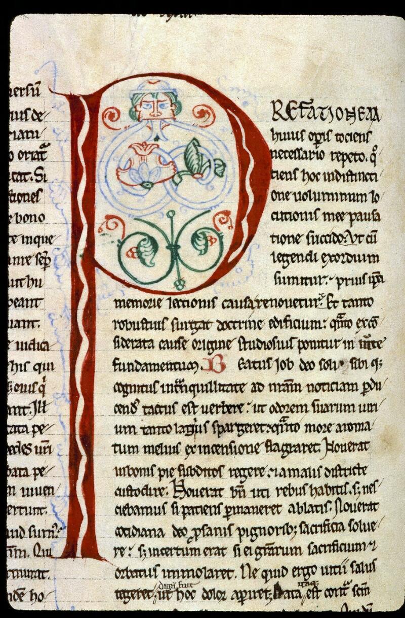 Angers, Bibl. mun., ms. 0188, f. 100v - vue 2