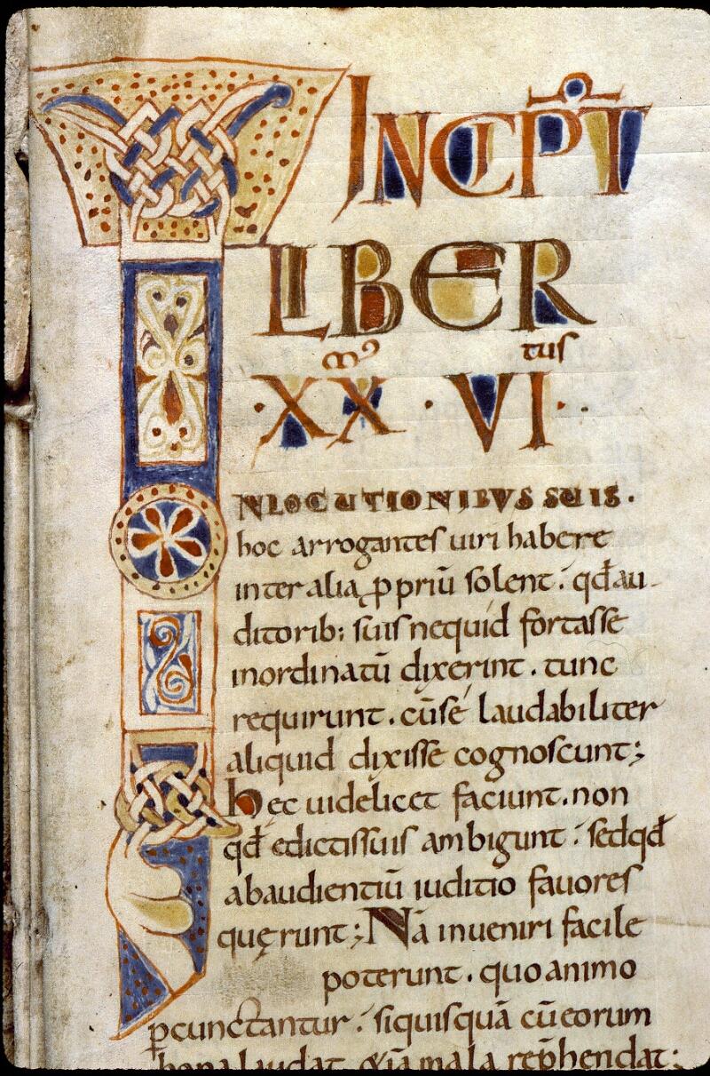 Angers, Bibl. mun., ms. 0189, f. 001 - vue 3