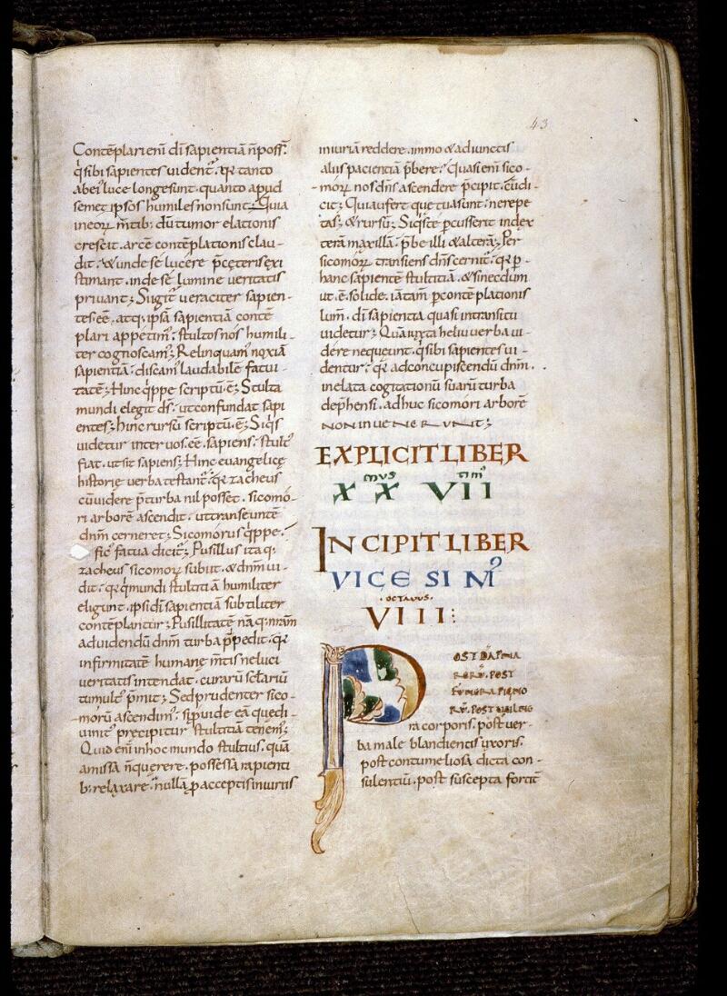 Angers, Bibl. mun., ms. 0189, f. 043 - vue 1