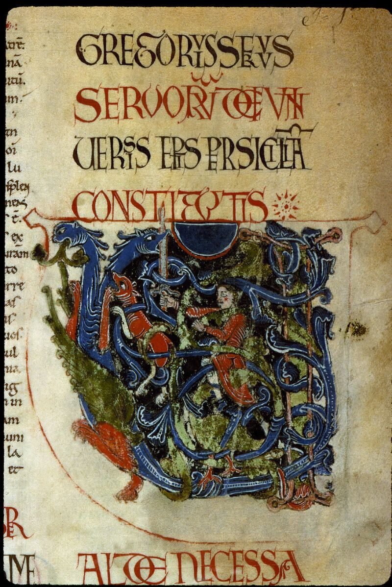 Angers, Bibl. mun., ms. 0194, f. 001 - vue 3