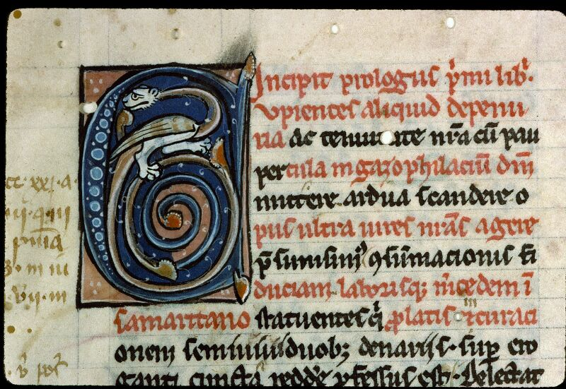 Angers, Bibl. mun., ms. 0197, f. 001 - vue 3