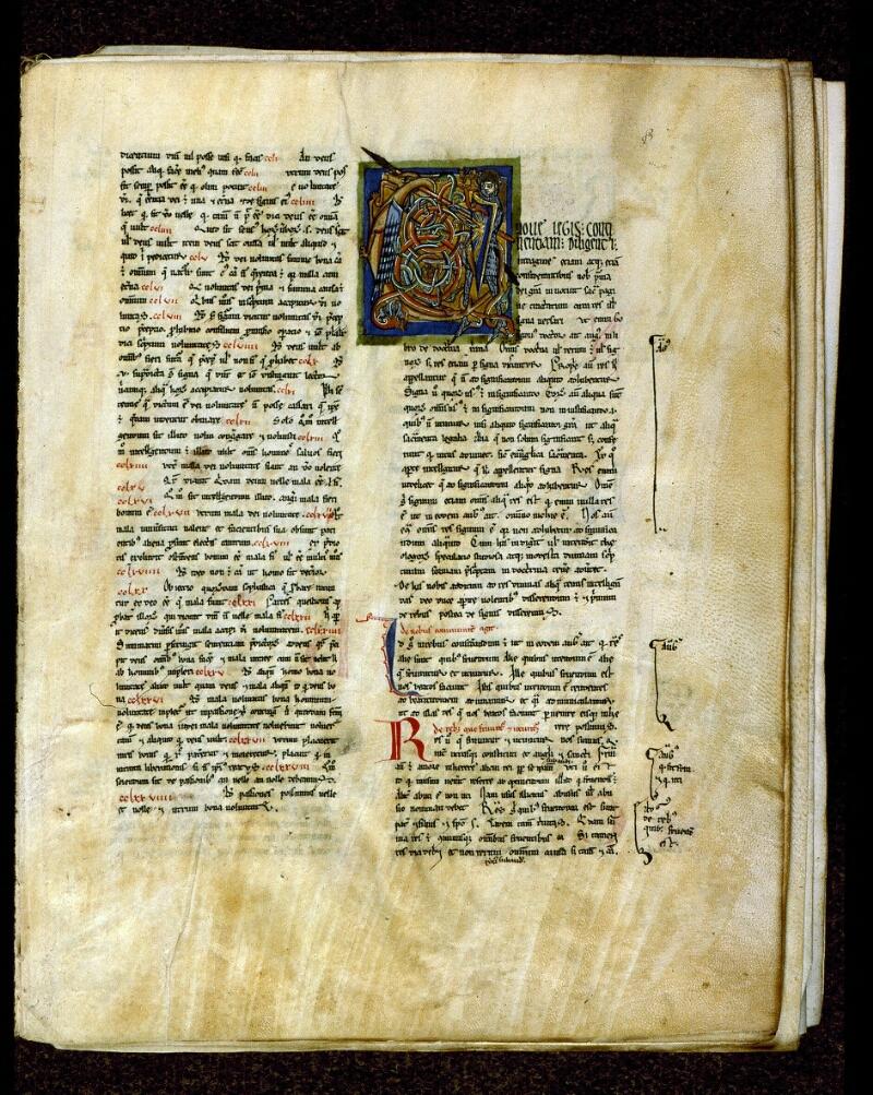 Angers, Bibl. mun., ms. 0199, f. 003 - vue 2