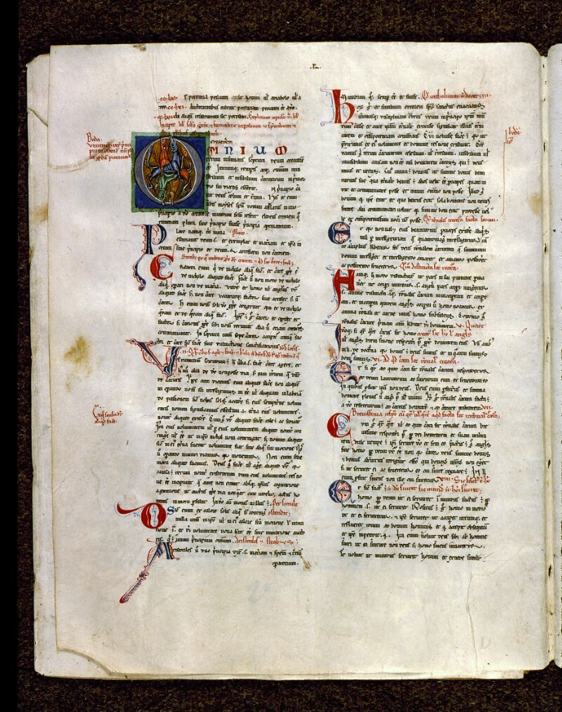 Angers, Bibl. mun., ms. 0199, f. 041v - vue 1