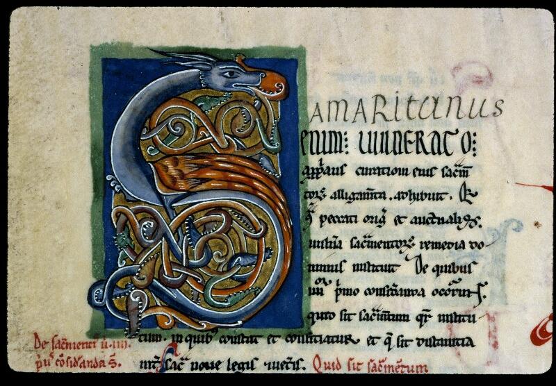 Angers, Bibl. mun., ms. 0199, f. 097 - vue 2
