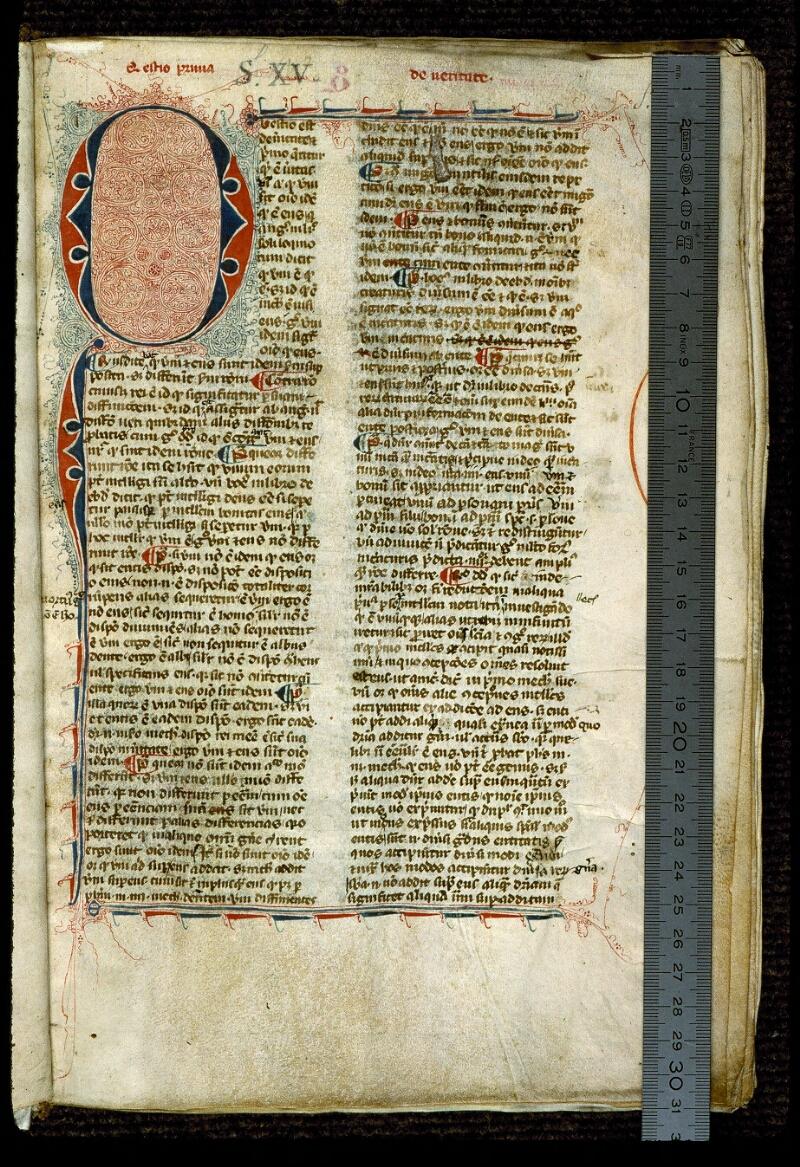 Angers, Bibl. mun., ms. 0211, f. 001 - vue 1