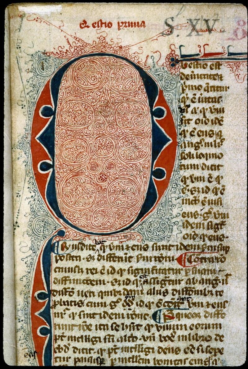 Angers, Bibl. mun., ms. 0211, f. 001 - vue 3