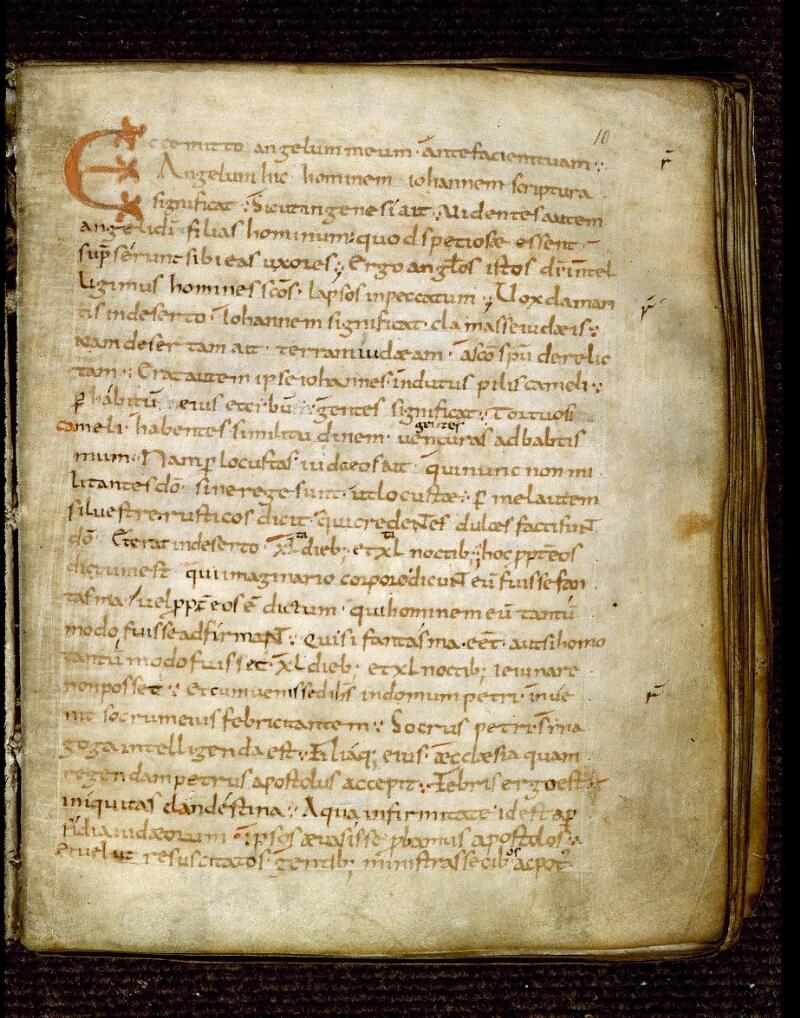 Angers, Bibl. mun., ms. 0234, f. 010 - vue 2