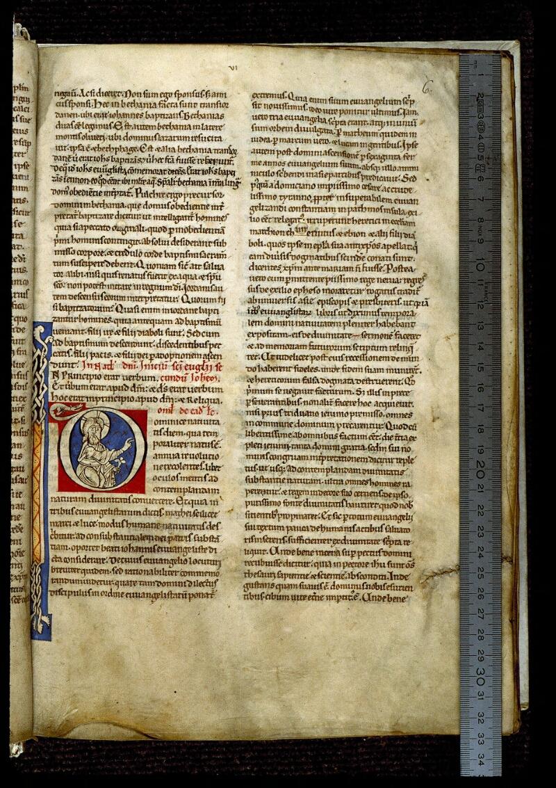 Angers, Bibl. mun., ms. 0243, f. 006 - vue 1