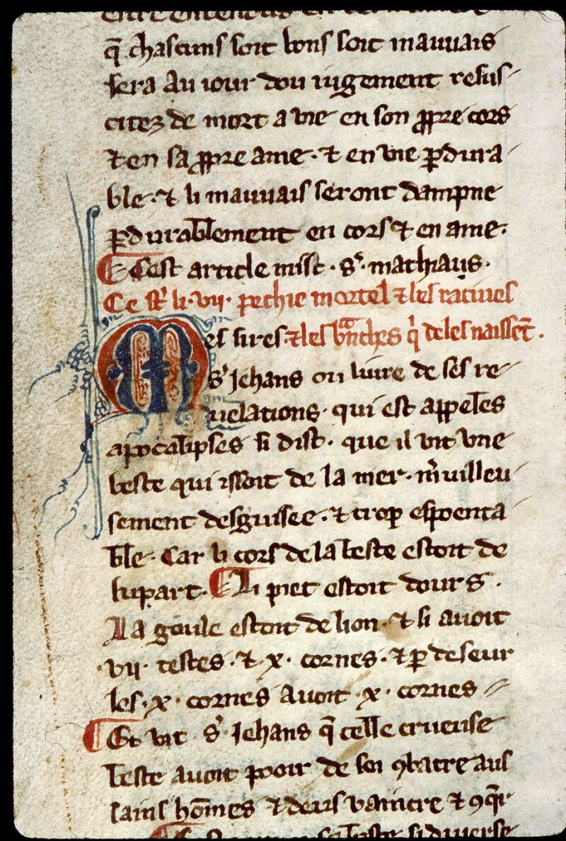 Angers, Bibl. mun., ms. 0264, f. 004
