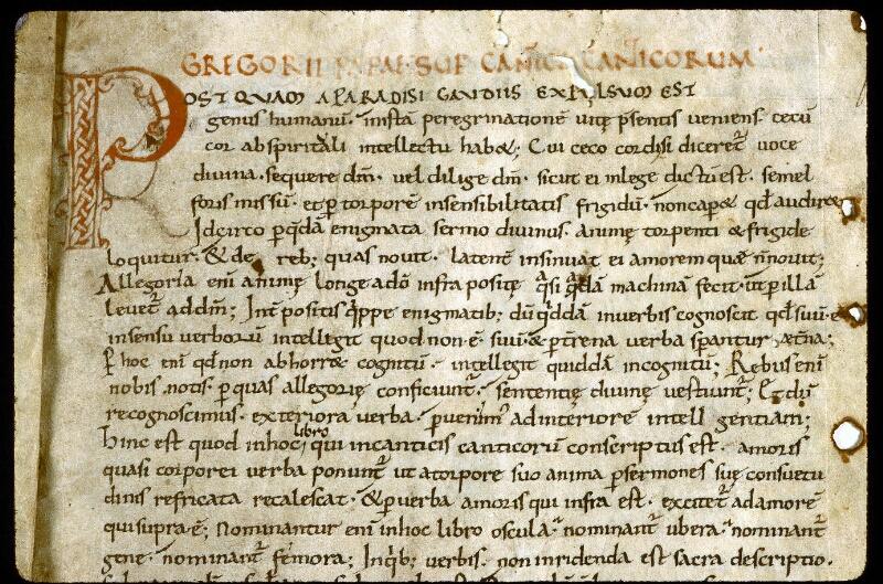 Angers, Bibl. mun., ms. 0282, f. 001 - vue 3