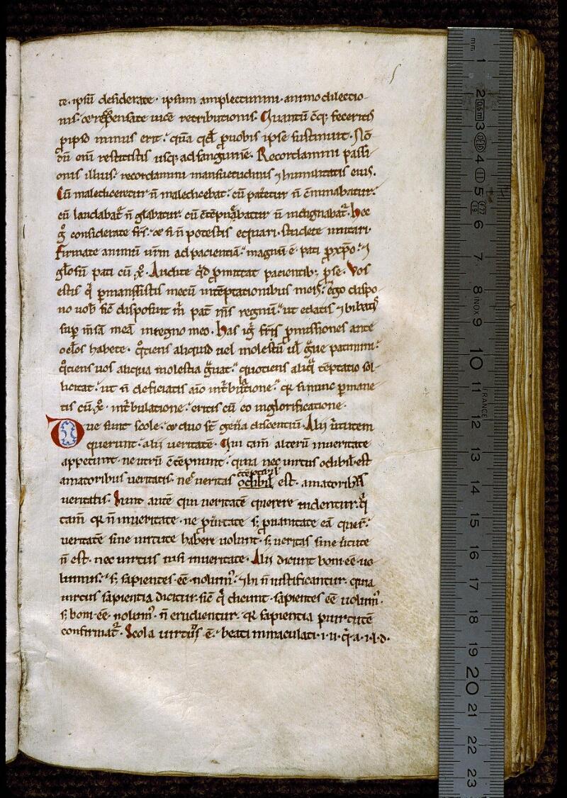 Angers, Bibl. mun., ms. 0299, f. 005 - vue 1
