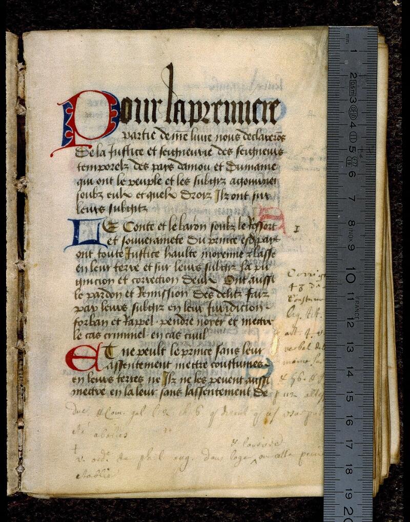 Angers, Bibl. mun., ms. 0342, f. 012 - vue 1