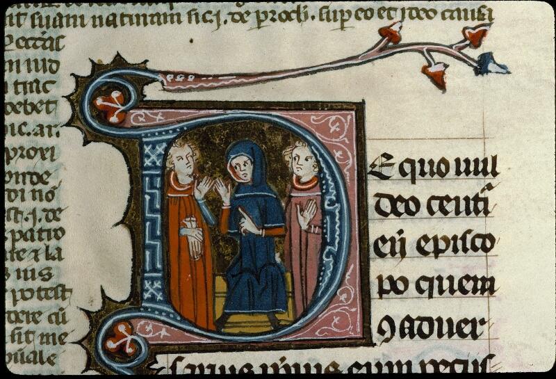 Angers, Bibl. mun., ms. 0376, f. 109 - vue 2