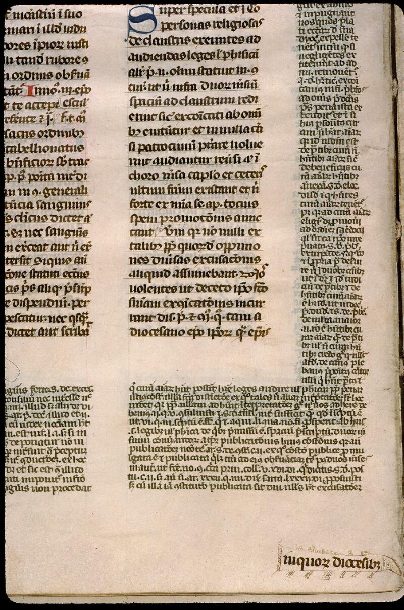 Angers, Bibl. mun., ms. 0376, f. 318v
