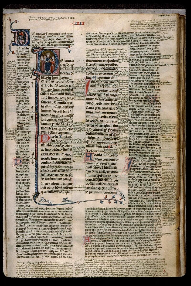 Angers, Bibl. mun., ms. 0376, f. 320 - vue 1