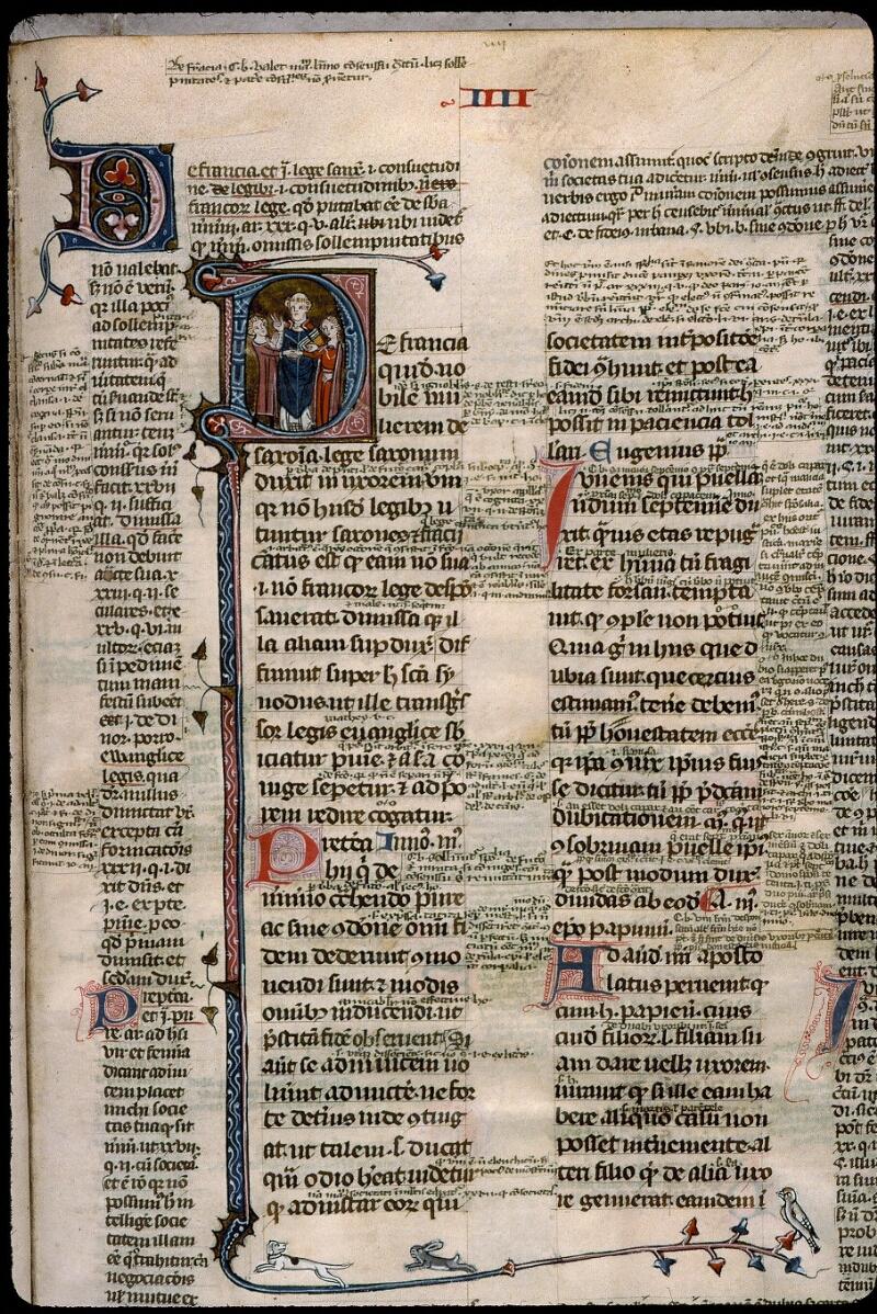 Angers, Bibl. mun., ms. 0376, f. 320 - vue 2