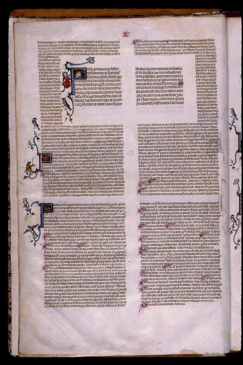 Angers, Bibl. mun., ms. 0385, f. 002v - vue 1