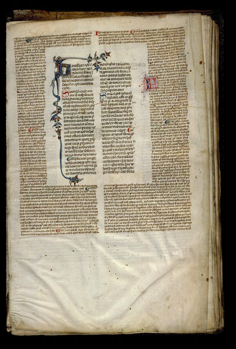 Angers, Bibl. mun., ms. 0386, f. 002 - vue 1