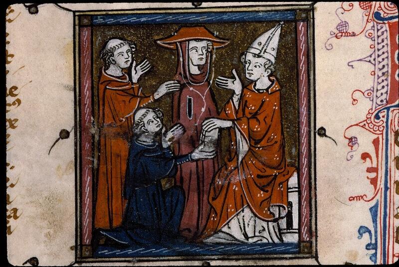 Angers, Bibl. mun., ms. 0387, f. 001 - vue 4