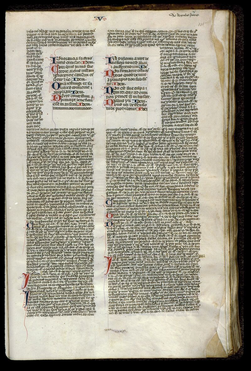 Angers, Bibl. mun., ms. 0387, f. 101