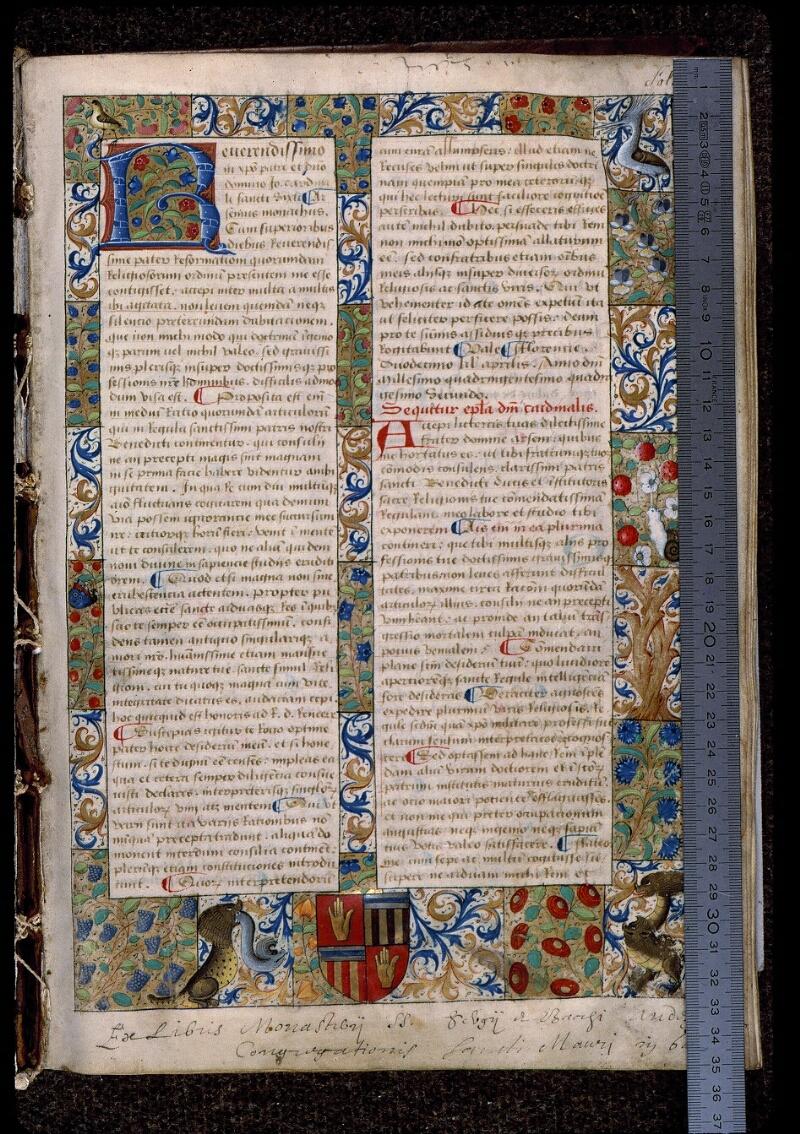 Angers, Bibl. mun., ms. 0404, f. 001 - vue 1
