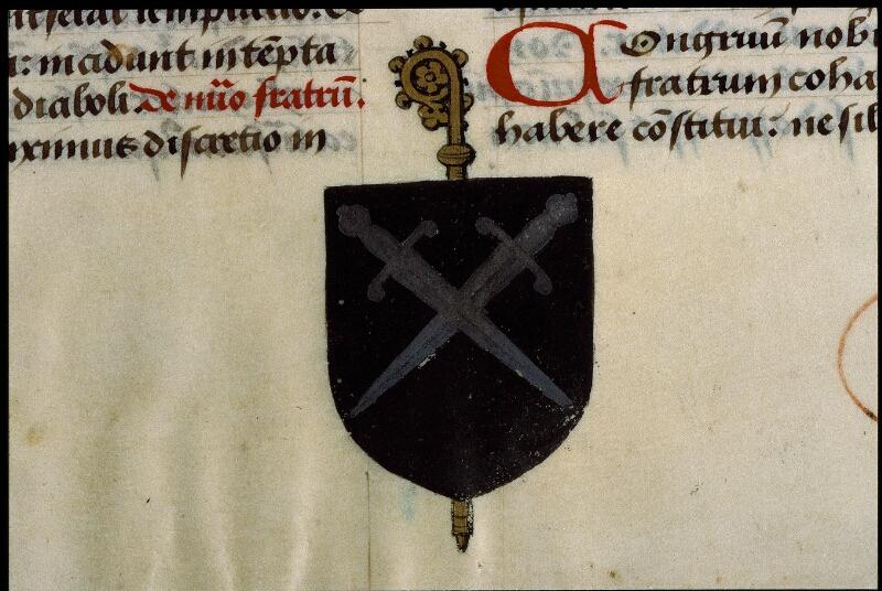 Angers, Bibl. mun., ms. 0408, f. 001 - vue 3