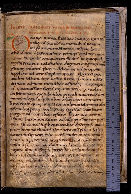 Angers, Bibl. mun., ms. 0798, f. 001 - vue 1
