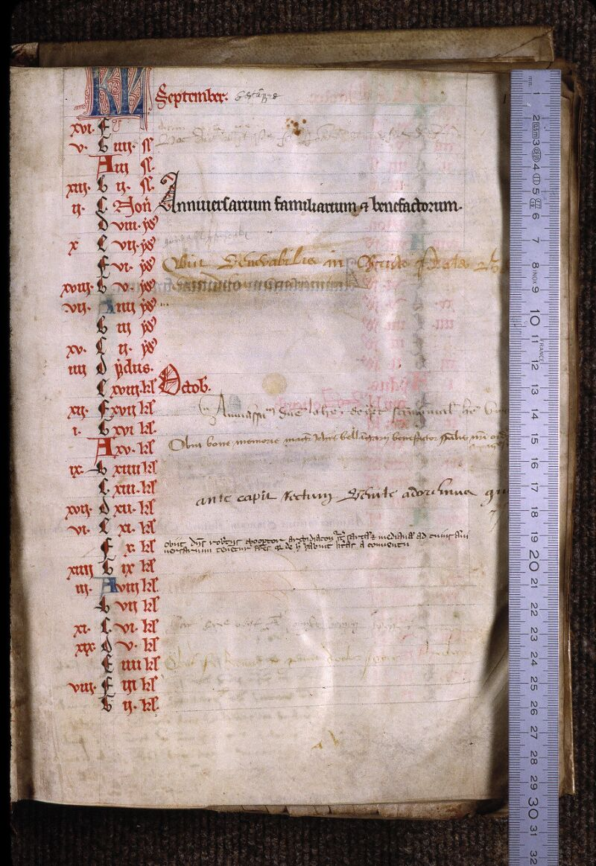 Angers, Bibl. mun., ms. 0799, f. 000IV - vue 1