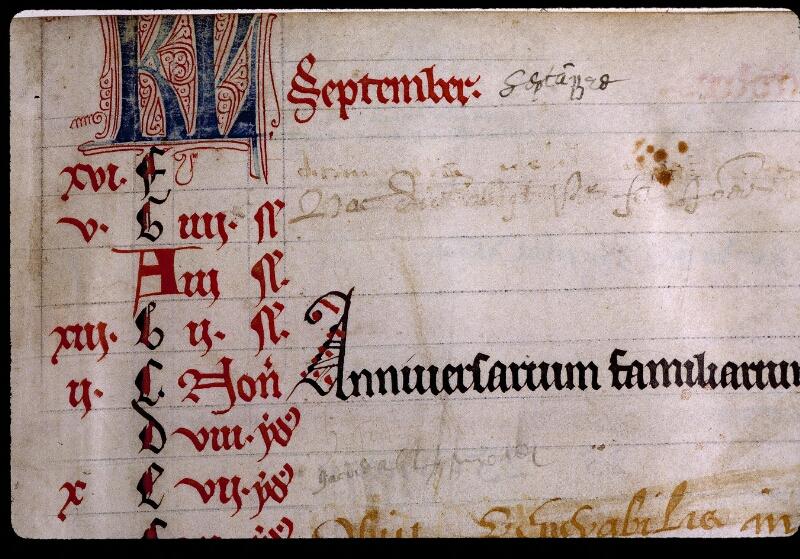 Angers, Bibl. mun., ms. 0799, f. 000IV - vue 3
