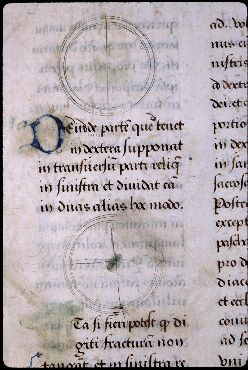 Angers, Bibl. mun., ms. 0799, f. 114v - vue 2