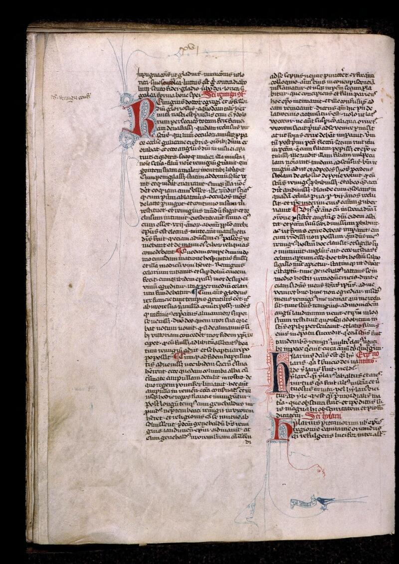 Angers, Bibl. mun., ms. 0808, f. 023v - vue 1