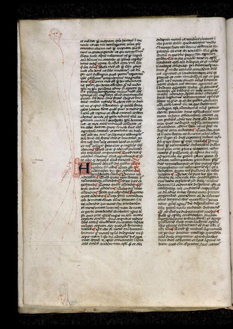 Angers, Bibl. mun., ms. 0808, f. 070v - vue 1