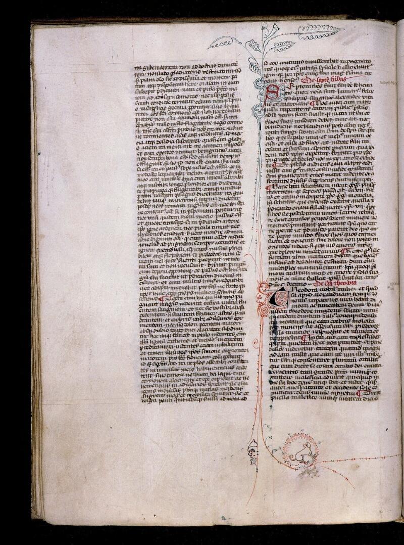 Angers, Bibl. mun., ms. 0808, f. 087v - vue 1