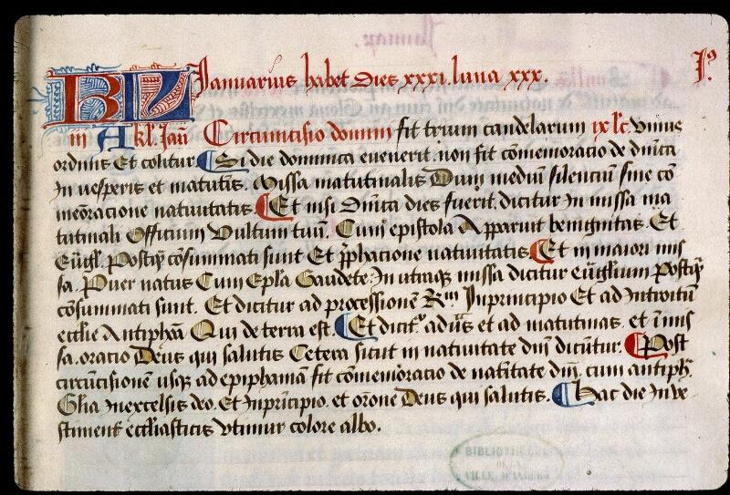 Angers, Bibl. mun., ms. 0855, f. 005 - vue 2