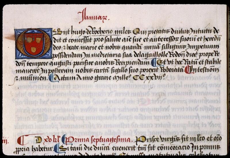 Angers, Bibl. mun., ms. 0855, f. 013v - vue 1