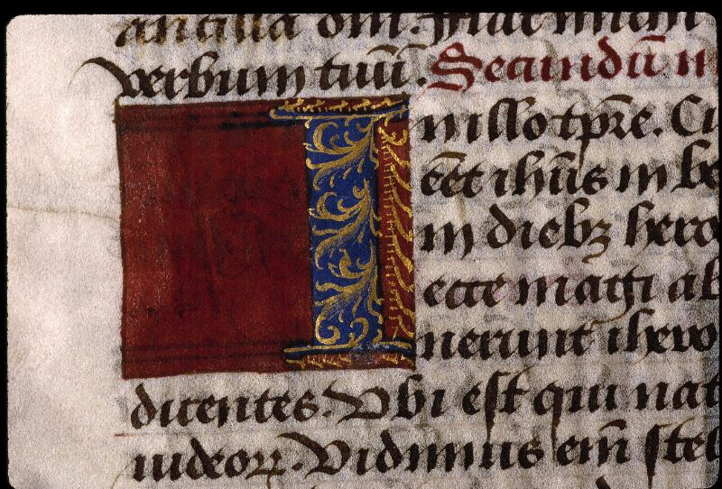 Angers, Bibl. mun., ms. 2048, f. 017 - vue 2