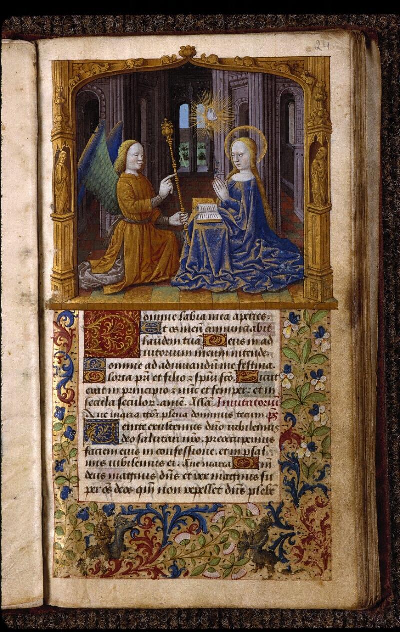 Angers, Bibl. mun., ms. 2048, f. 024 - vue 1