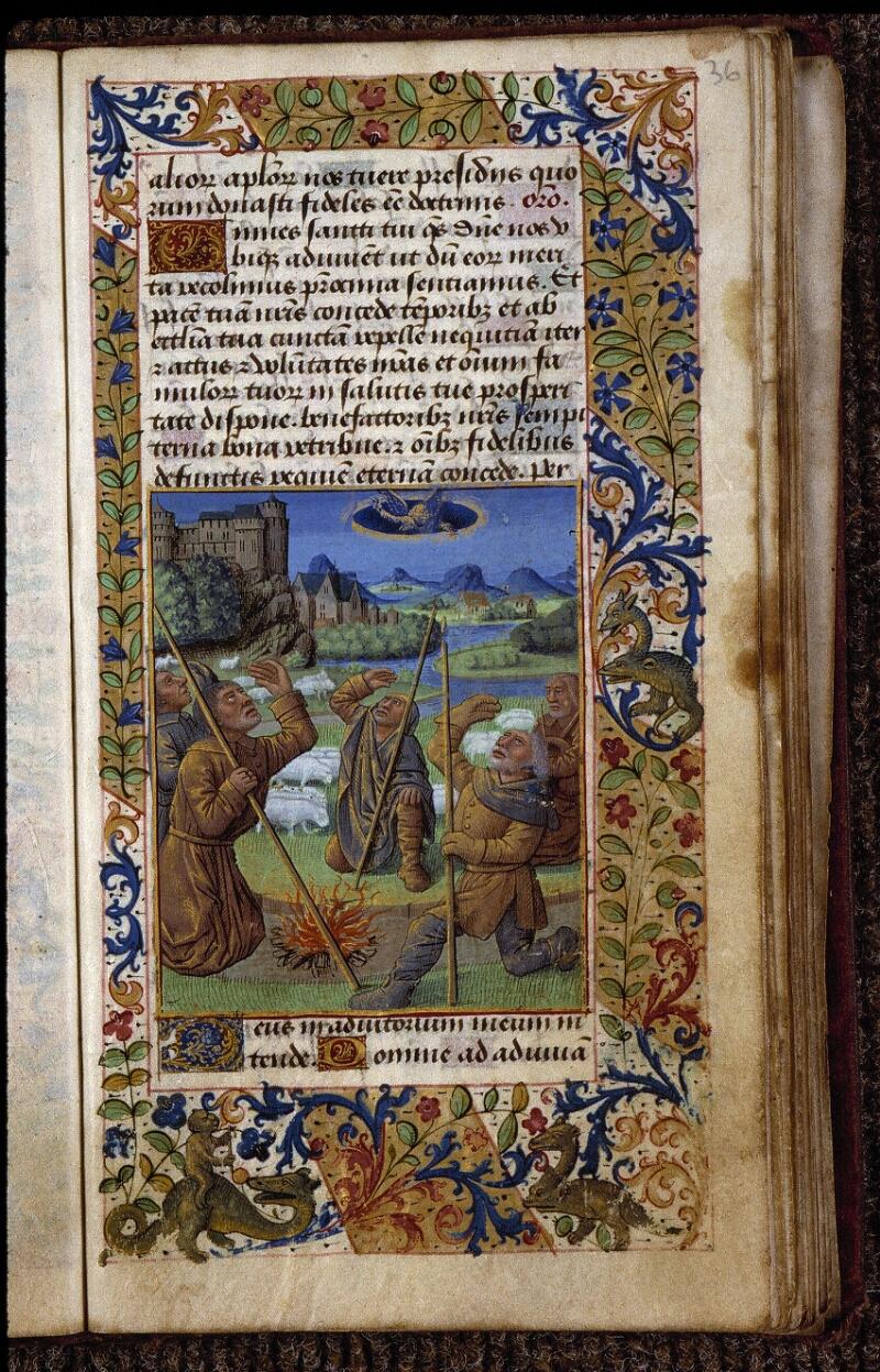 Angers, Bibl. mun., ms. 2048, f. 036 - vue 1