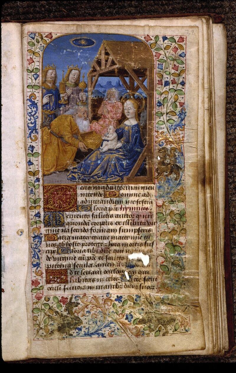 Angers, Bibl. mun., ms. 2048, f. 038 - vue 1