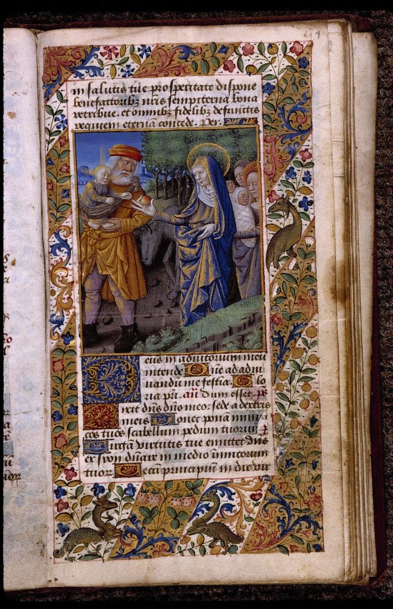 Angers, Bibl. mun., ms. 2048, f. 041 - vue 1