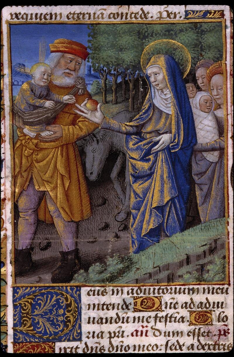 Angers, Bibl. mun., ms. 2048, f. 041 - vue 2