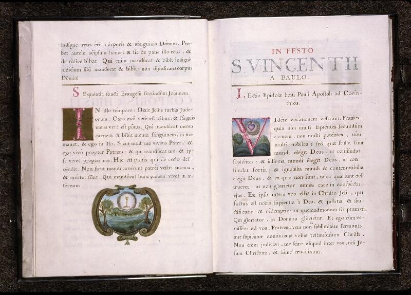 Angers, Cathédrale, ms. non coté [1], f. 000I v-000II