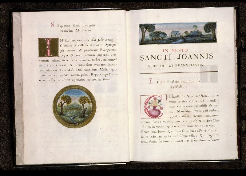 Angers, Cathédrale, ms. non coté [1], f. 000II v-000III