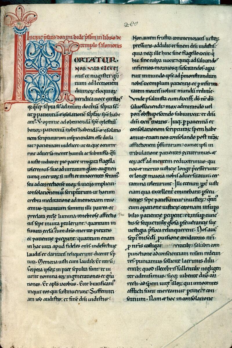 Auxerre, Bibl. mun., ms. 0014, f. 001