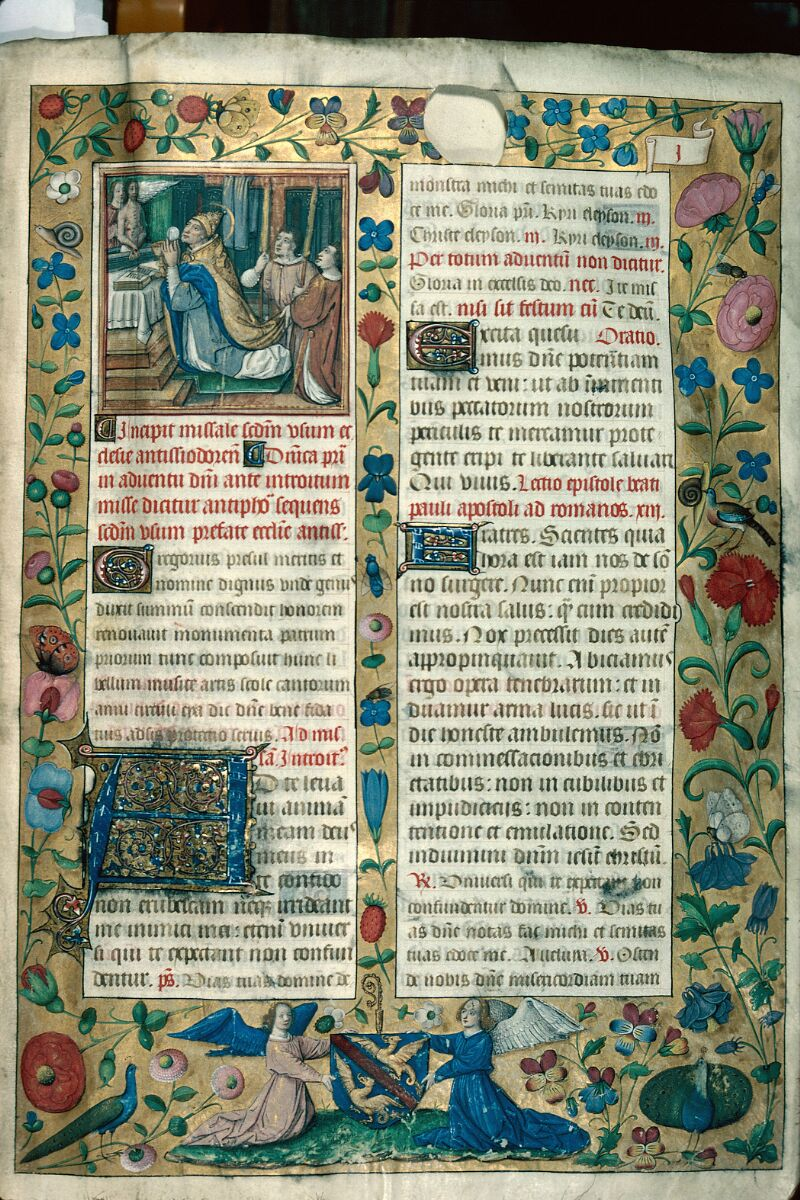 Auxerre, Bibl. mun., ms. 0052, f. 001 - vue 1