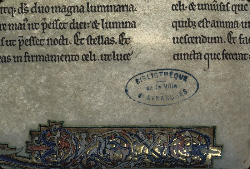 Avranches, Bibl. mun., ms. 0002, f. 005 - vue 7